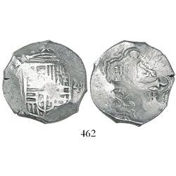 Mexico City, Mexico, cob 4 reales, (162)3/2D, rare.