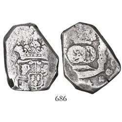 Guatemala, cob 8 reales, (174)4J, very rare.