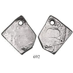 Guatemala, cob 4 reales, 1752J.