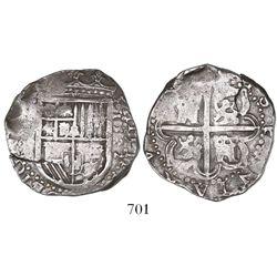 Seville, Spain, cob 4 reales, 1592B.