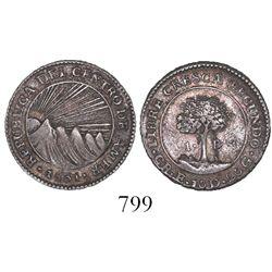 Costa Rica (Central American Republic), 1 real, 1831E, rare.