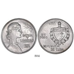 """Cuba, """"ABC"""" peso, 1934."""