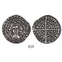 London, England, groat, Edward IV (1461-1483).