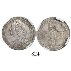 Great Britain (London, England), sixpence, George II, 1746, with LIMA below bust of king, encapsulat