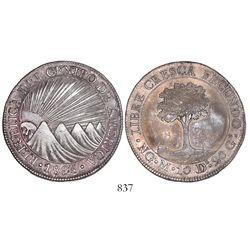 Guatemala (Central American Republic), 8 reales, 1825M.