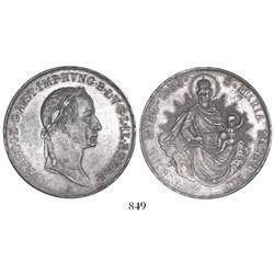 Hungary (struck in Vienna), thaler, Franz II, 1830-A.