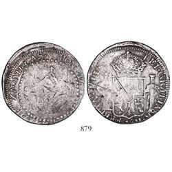 Zacatecas, Mexico, 8 reales provisional, 1811-LVO, rare.