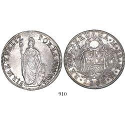 Lima, Peru, 8 reales, 1832MM.