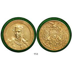 Bolivia, gold (18K) medal, 1825-1925 centennial.