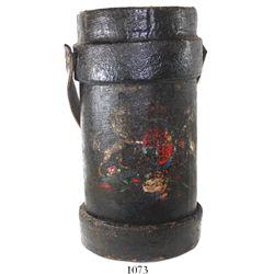 British naval artillery powder-bag passbox, 1800s.