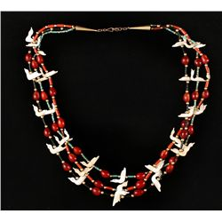 3 Strand Ceremonial Fetish Necklace