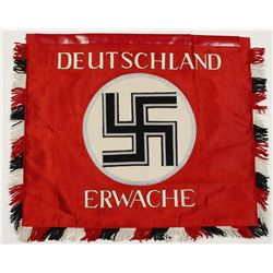 Post War German WWII Deutschland Erwache Flag