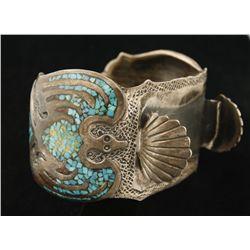 Navajo Watchband Cuff Bracelet