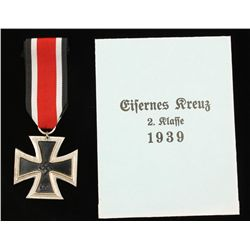 German WWII Naval 2nd Class Iron Cross
