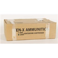 Case of .380 ACP Ammunition