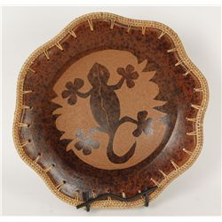 Tortoise Shell Clay Plate
