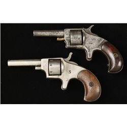 Lot of 2 Spur Trigger Revolvers Cal .22