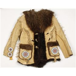 Custom Buffalo coat