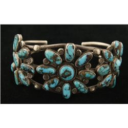 Old Pawn Floral Turquoise