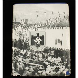 German WW2 1936 Winter Olympic Cigarette Album
