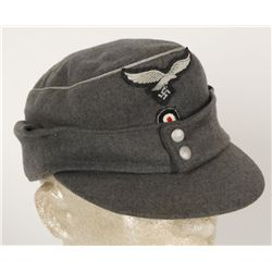German WWII Luftwaffe Officers M-43 Cap