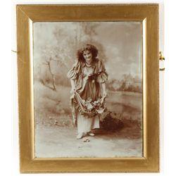 Beautiful Victorian Era Saloon Photograph