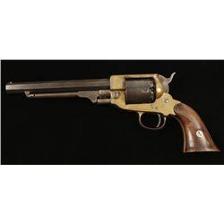 Unknown Cased Percussion Revolver Approx. .36 Cal.