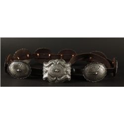 Beautiful Navajo Concho Belt