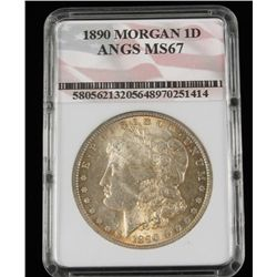 1890 Morgan1D ANGS MS67