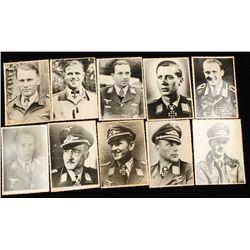 German WW2 10 Luftwaffe Knights Cross Winner Photo