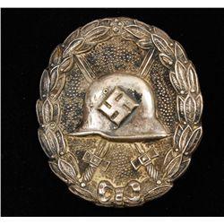 German WWII Silver Condor Legion Wound Badge