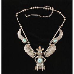 Beautiful Native American Kachina necklace