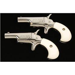 Cased Set of Colt No 4 Derringers .22 Short Cal. S