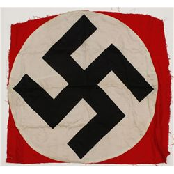 German WWII NSDAP Political Swastika Flag Center