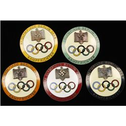 German WW2 1936 Berlin Summer Olympics Judge Badge