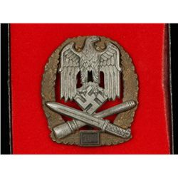 German WWII Army '100' General Assault Badge