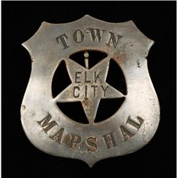 Old West Elk City Idaho Town Marshal Cowboy Era