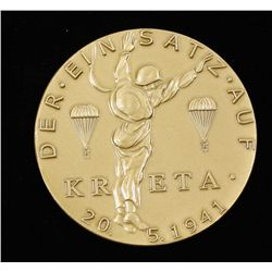 German WWII 1941 Luftwaffe KRETA  Award