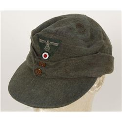 German WWII Army M-43 Enlisted Man's Cap