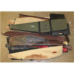 Lot of Gun Cases