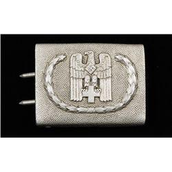 German WWII Red Cross Enlisted Man's Belt Buckle