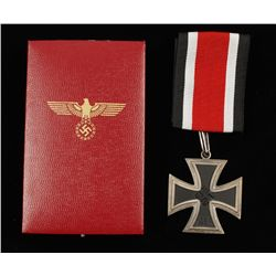 Cased German WWII Knights Cross to the Iron Cross