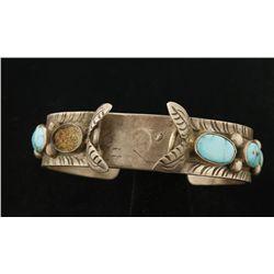 Native American Watchband Cuff Bracelet