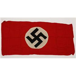 German WWII NSDAP Political Swastika Flag