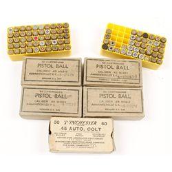 Lot of .45 ACP Ball Ammo