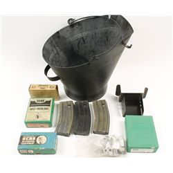Coal Scuttle With Reloading Equipment