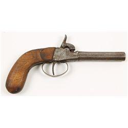 German Muff Pistol Cal.: unknown SN: 17