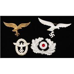 German WWII Luftwaffe Summer Tunic Breast Eagle
