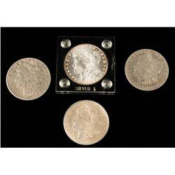 Lot of Morgan Silver Dollars
