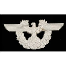 German WWII Police Cartouche Box Eagle